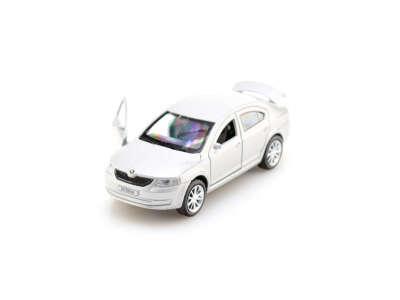 Автомодель - SKODA OCTAVIA (белый)