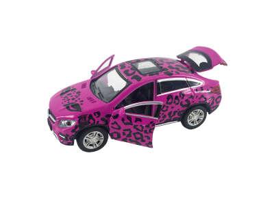 Автомодель GLAMCAR - MERCEDES-BENZ GLE COUPE (розовый)