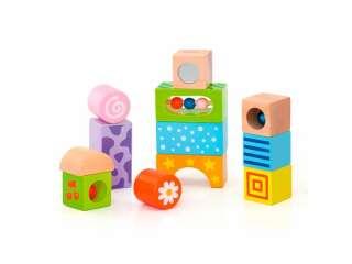 Деревянные кубики Viga Toys Погремушки (50682)