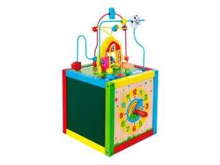 Деревянный бизикуб Viga Toys 5 в 1 (58506)