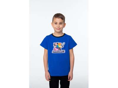 Футболка для мальчиков - B-21379S_синий