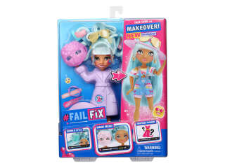 Игровой набор с куклой FAILFIX серии 'TOTAL Makeover' - КРАСОТКА АРТИ