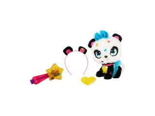 Игровой набор с мягкой игрушкой SHIMMER STARS – ПАНДА ПИКСИ (c аксессуарами)