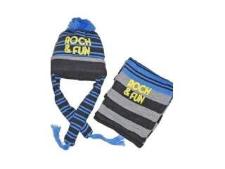 Комплект шапка и шарф WOJCIK (Kompl-13 baby)
