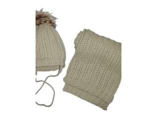 Комплект шапка и шарф WOJCIK (Kompl20 baby)