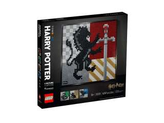LEGO ART Гербы факультетов Хогвартса (31201)