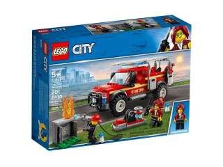 LEGO City «Грузовик начальника пожарной охраны» (60231)