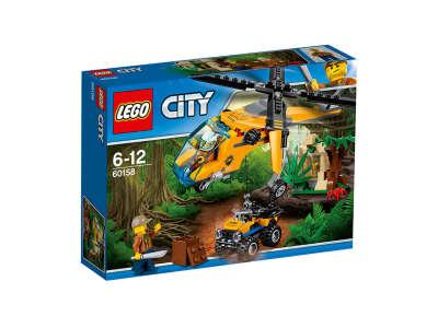 LEGO City Грузовой вертолёт исследователей джунглей (60158)