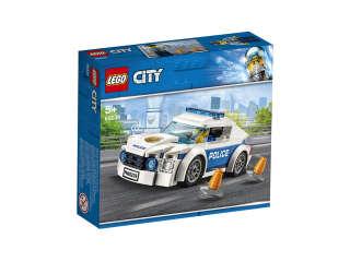 LEGO City Полицейское патрульное авто (Артикул: 60239)