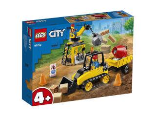 LEGO City Строительный бульдозер (60252)