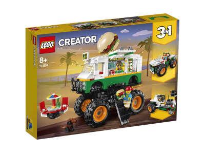 LEGO Creator Грузовик «Монстрбургер» (Артикул: 31104)