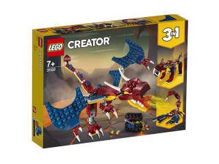 LEGO Creator Огненный дракон (31102)