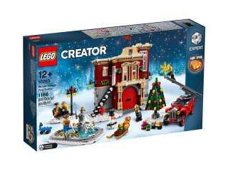 LEGO Creator Сельское пожарное депо зимой (10263)