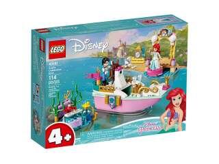LEGO Disney Princess Праздничный корабль Ариэль (43191)