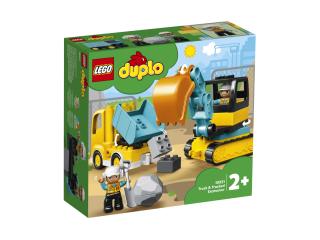 LEGO DUPLO Грузовик и гусеничный экскаватор (10931)
