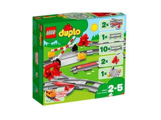 LEGO DUPLO Железнодорожные пути (10882)
