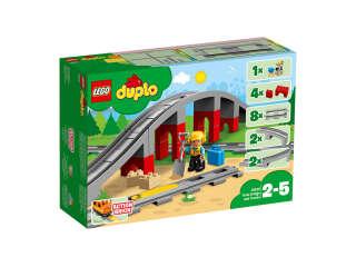 LEGO DUPLO Железнодорожный мост и рельсы (10872)