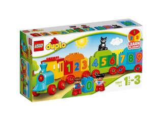 LEGO DUPLO LEGO DUPLO Поезд с цифрами (Артикул: 10847)