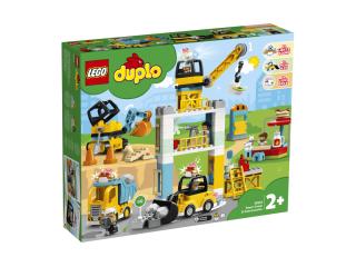 LEGO DUPLO Подъемный кран и строительство (10933)