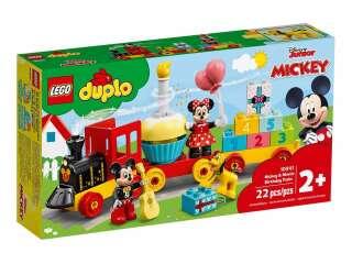LEGO DUPLO Праздничный поезд Микки и Минни (10941)