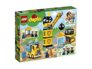LEGO DUPLO Сокрушительный шаровидный таран (10932)
