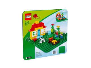 LEGO DUPLO Строительная пластина (Зеленая) (2304)