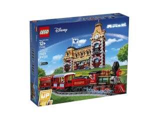 LEGO Exclusive Дисней: поезд и вокзал (71044)