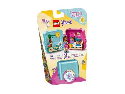 LEGO Friends Игровой куб: лето с Оливией (41412)
