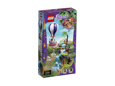 LEGO Friends Спасение тигра из джунглей на воздушном шаре (41423)