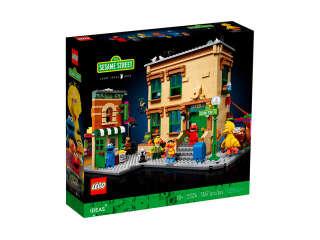 LEGO Ideas 123 Улица Сезам (21324)
