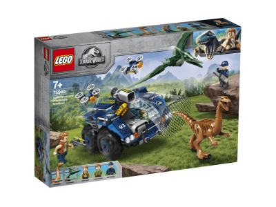 LEGO Jurassic World Галимимус и Птеранодон прорыв (75940)