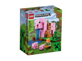 LEGO Minecraft Дом-хрюшка (21170)