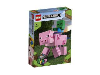 LEGO Minecraft Свинья и Зомби-ребёнок (21157)