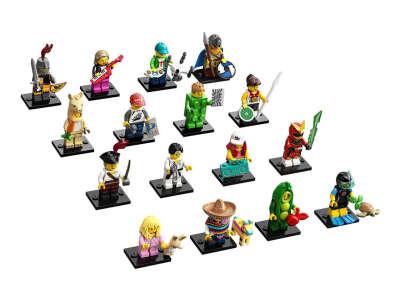LEGO Minifigures Серия 20: полная коллекция (71027-17)