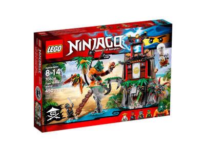 LEGO NINJAGO Остров Тигриной вдовы (70604)