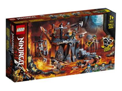 LEGO NINJAGO Путешествие в подземелья Черепа (71717)
