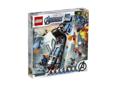 LEGO Super Heroes Башня Мстителей - Битва (76166)