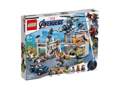 LEGO Super Heroes Битва на базе Мстителей (76131)