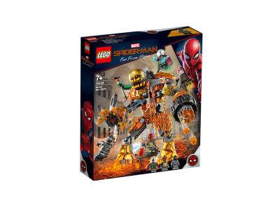 LEGO Super Heroes Бой с Расплавленным человеком (76128)