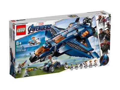 LEGO Super Heroes Модернизированный квинджет Мстителей (76126)