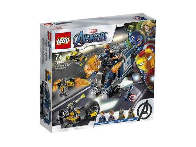 LEGO Super Heroes Мстители: Нападение на грузовик (Артикул: 76143)