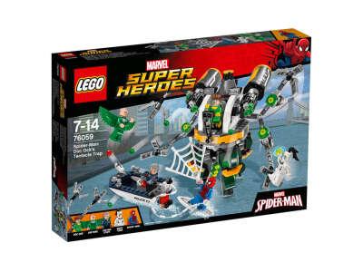 LEGO Super Heroes Щупальцевая ловушка Доктора Осьминога (76059)