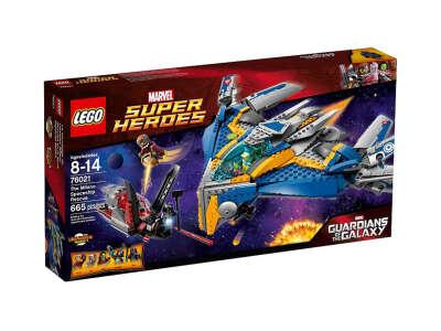 LEGO Super Heroes Спасение корабля Милано (76021)