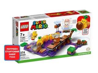 LEGO Super Mario Ядовитое болото гусеницы. Дополнительный уровень (71383)