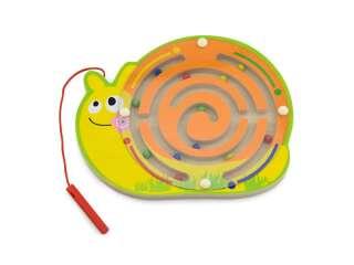 Магнитный лабиринт Viga Toys Улитка (59966)