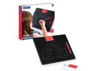 Магнитный планшет Guidecraft Manipulatives для рисования, с шаблонами и ручкой (G99970)
