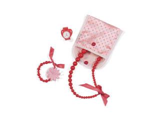 Мини-набор аксессуаров для куклы OUR GENERATION - МОДНЫЕ УКРАШЕНИЯ (сумочка, 3 аксессуара)