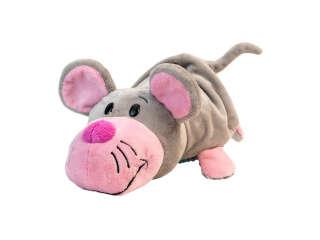 Мягкая игрушка с пайетками 2 в 1 - ZooPrяtki - КОТ-МЫШЬ (30 cm)