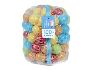 Набор игрушек - РАЗНОЦВЕТНЫЕ ШАРИКИ (для сухого бассейна, 100 шт.)