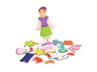 Набор магнитов Viga Toys Гардероб девочки (59652)